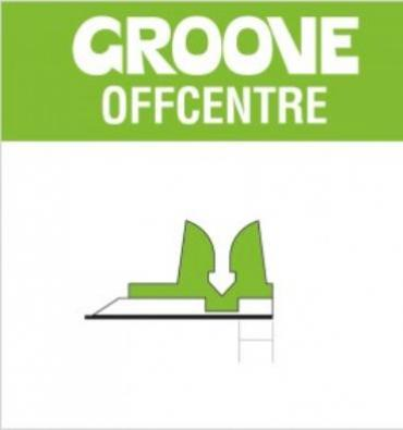 GROOVE OFFCENTRE